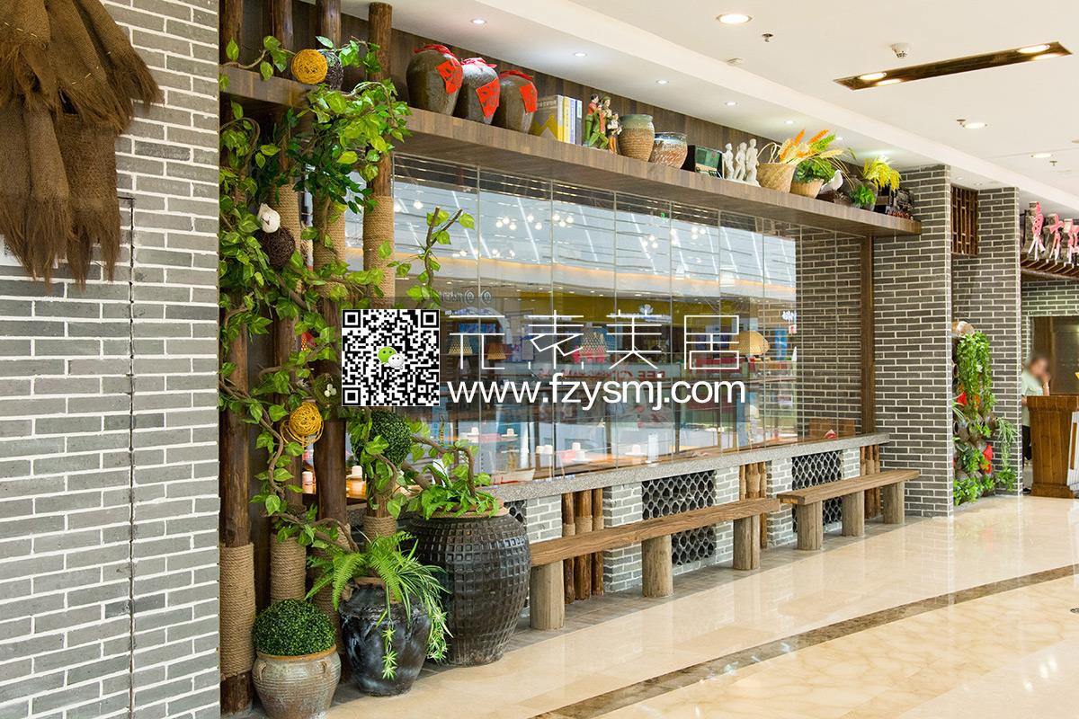 东方红-仿真植物装饰客户案例