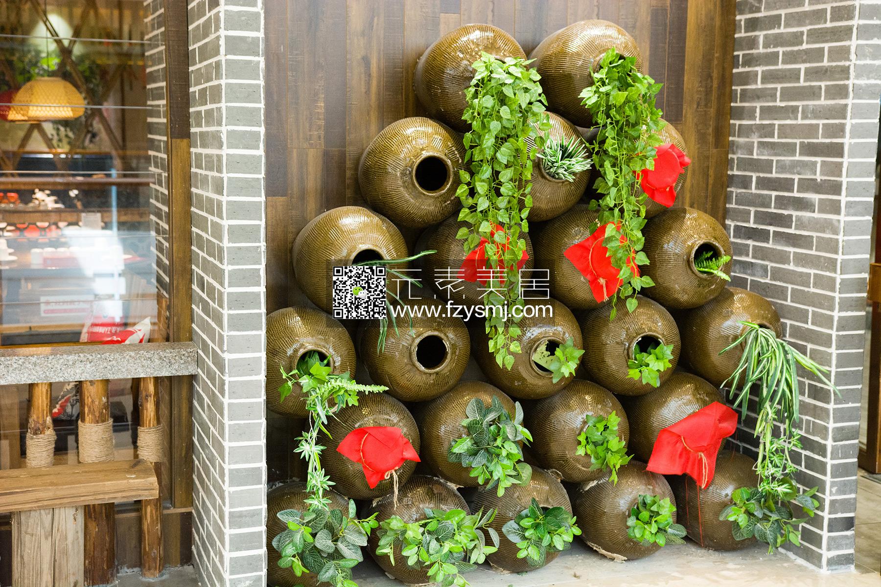 东方红-仿真植物装饰客户案例02