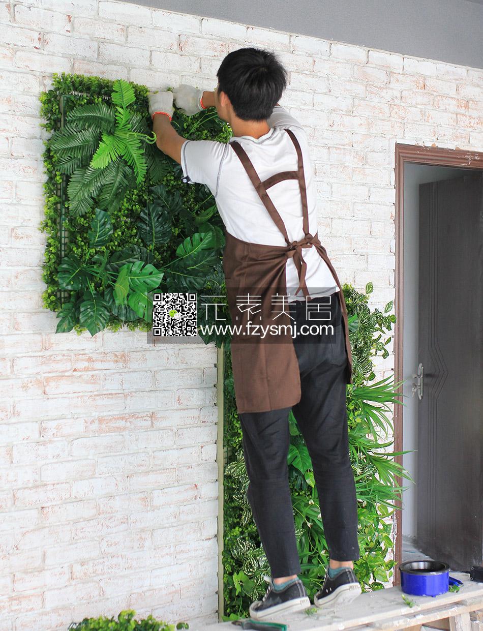 绿植墙公司背景墙装饰