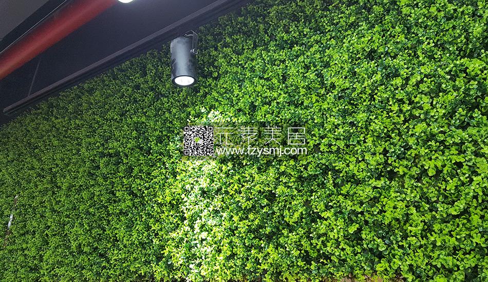 公司前台形象墙案例-福州市牛人装饰有限公司